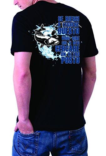Posto Fish Devi Vuol A Riesci Simpatica Cercare Leggere Pesca Ti Tshirt Se Nero Pesce Altro Che Dire Un Questo OBSqwHxnT