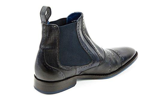 8 Victor Boots Chelsea amp; Melvin Herren Blau Hamilton qAW6U8wxI