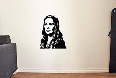 Game of Thrones Queen Cersei Lannister Vinyl Wall Decals Movie Film Queen of The Seven Kingdoms Stickers Vinyl Decor Murals MK3021