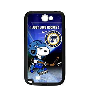 Custom Unique Design NHL St Louis Blues Samsung Galaxy Note 2 Silicone Case