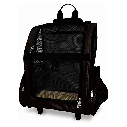 [해외]개와 고양이를위한 Furhaven 애완 동물 배낭 - 롤러 캐리어/Furhaven Pet Backpack-Roller Carrier for Dogs and Cats
