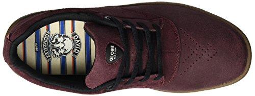 Globe The Eagle Sg - Zapatillas de casa Hombre Rot (Burgundy/Gum Cc)