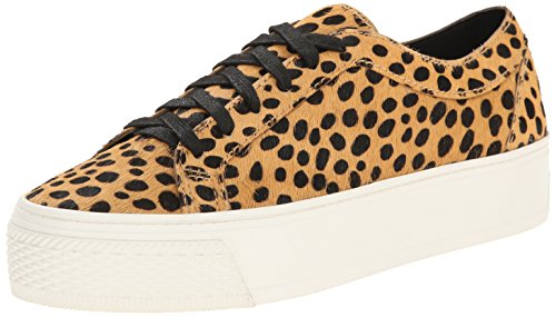 LOEFFLER RANDALL Women's Miko  Fashion Sneaker, Cheetah, 6 M US