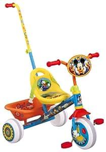 """Stamp J899022 Disney - Triciclo con asa y cesta, diseño de Mickey (8,5"""")"""