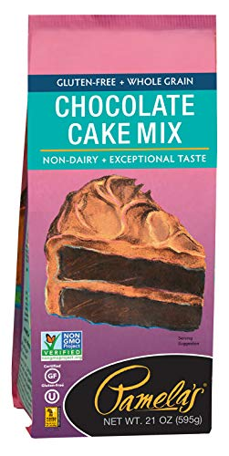 (Pamela's Products Gluten Free Cake Mix, Chocolate, 21 Ounce)