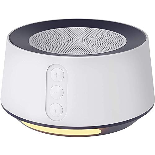Letsfit White Noise Machine with Adjustable Baby Night Light for Sleeping, 14 High Fidelity Sleep Machine Soundtracks, Timer and Memory Feature, Sound Machine for Baby, Adults, Home and Office