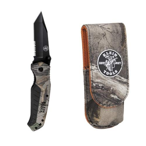 Klein Tool Camo Knife and Matching Belt Pouch