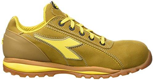 Diadora Glove Ii Low S3 Hro, Zapatos de Trabajo Unisex Adulto Amarillo (Cammello)