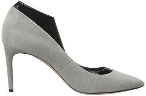 Gris 1F100E080 para mujer de Ooo Zapatos tacón Casadei Black Yaxwq4zz