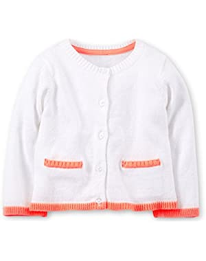 Baby Girls' Sweater Knit Cardigan