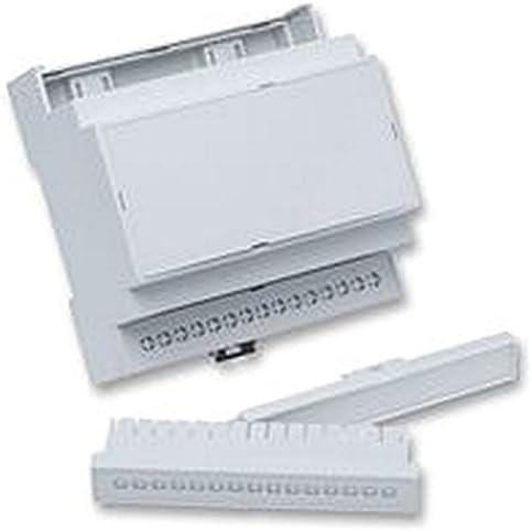 Caja carril DIN ventilado M4 KIT recintos y 19