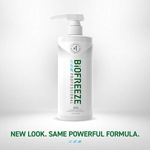 Biofreeze Professional Pain Relief Gel, 32 oz. Pump, Green