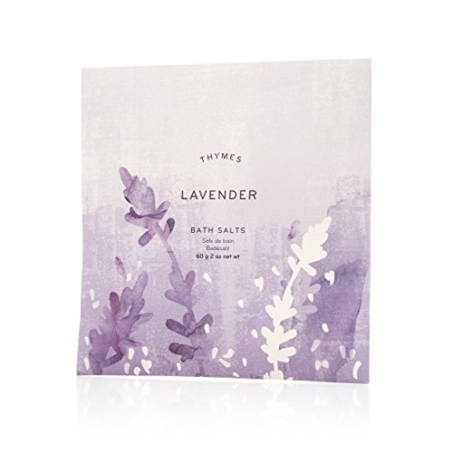 Thymes - Lavender Bath Salts - Soothing Combination of Epsom and Sea Salt for Relaxing Bath Soak - 2 - Gift Lavender Thymes