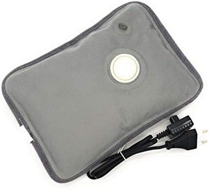 MovilCom® Elektrische Wärmflasche mit Bezug | Wiederaufladbar in 15 Minuten | Heizkissen / Handwärmer, 600 Watt | Ideal bei Schmerzen von Rücken, Muskeln, Gelenke, Menstruation, Rheuma (Mod.17)