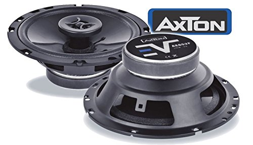 VW Polo 6N2 - Lautsprecher Boxen Axton AE652F | 16cm 2-Wege 160mm Koax Auto Einbauzubeh/ö r - Einbauset JUST SOUND best choice for caraudio VWPo6N2Kx/_AE652F