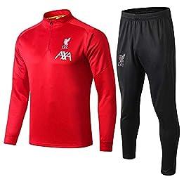 Maillot d'entraînement de Football à Manches Longues de Liverpool Maillot de Sport