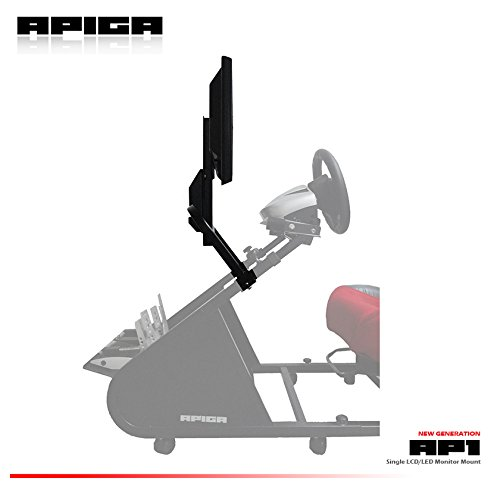 APIGA - AP-LCD-M1 Single LCD Monitor Mount ( For APIGA AP1 Racing Simulator - Shop Racing Ap