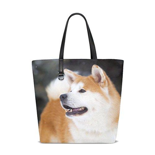 te Yellow Pet Mix Small Fluffy Tote Bag Purse Handbag For Women Girls ()
