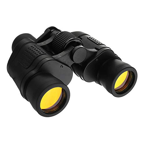 Homefami 60X60 Zoom Day/Low Light Level Night Vision Outdoor Optical Telescope Night Vision Binocular HD Binoculars Hunting Telescope + Case Sets Clarity 3000M 7