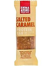 Emma and Tom's Salted Caramel Vegan Protein Bar 35 g x 12