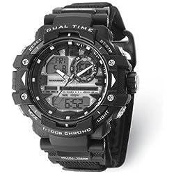 Wrist Armor Men's 'U.S. Marine Corps' Quartz Black Casual Watch (Model: 37100031)