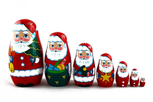 List of the Top 9 nesting dolls santa clause you can buy in 2020