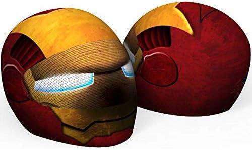 Ironman motorcycle helmet _image2