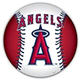"MLB Los Angeles Angels of Anaheim 7 3/4"" Baseball Team Logo Car Magnet"