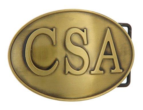 CSA Bronze Belt Buckle