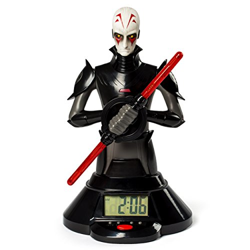 Star Wars The Inquisitor Double Light Saber (Star Wars, The Inquisitor Lightsaber Clock)