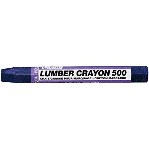 (Markal 500 Lumber Crayon Clay Based Marker, 1/2