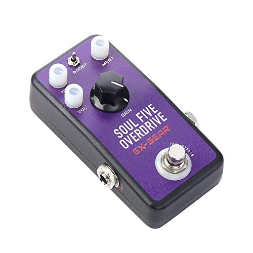 EX GEAR Soul Five Overdrive Guitar Effects Pedal from EX GEAR