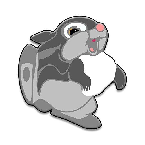 Thump Rabbit Cartoon Character Deer Window Laptop Car Sticker 6