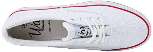 Shoe White Canvas Weiß Beppi Fitnessschuhe Damen White ngTw4a