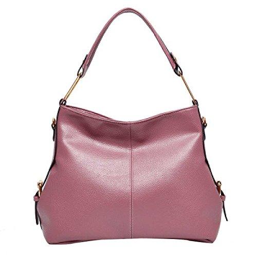 Frauen Mode Schultertasche Handtasche Diagonal Paket,Pink-OneSize