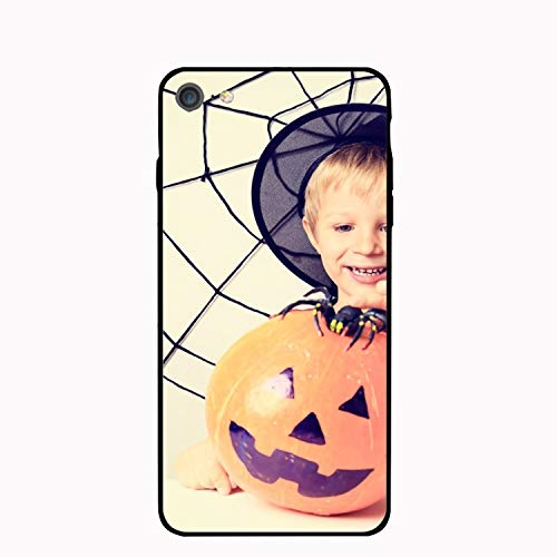 Happy Halloween iPhone 7/8 Case Anti-Finger Print PC cellpnone Case for 4.7 inch]()