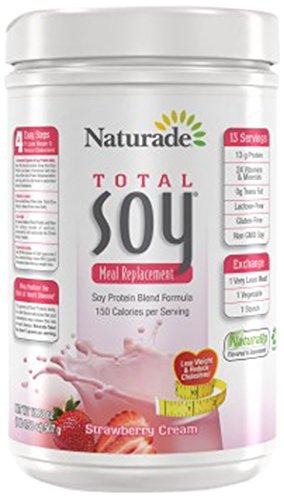 Naturade Total soya, fresa, 1 LB OZ 1,88.