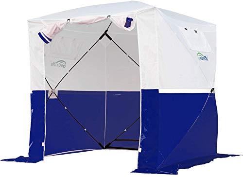 Goutime Easy Pop Up Gazebo terras, 2X2 Camo Tuin Event Shelter Geschikt voor Vissen Camping, Multifunctionele Draagbare…