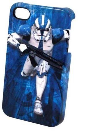 Star Wars Clone Trooper iPhone 4 Plastic Cover