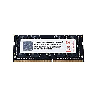 V-Color 16GB (1 x 16GB) Laptop Memory Module Upgrade DDR4 Non ECC 2666MHz (PC4-21300) CL19 1.2V SO-DIMM, Notebook Ram Module (TN416G26D819-SB)