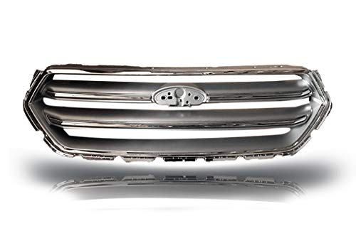 Replacement Grill for Ford Escape 2017 2018 | Chrome ABS | by JX Accessories