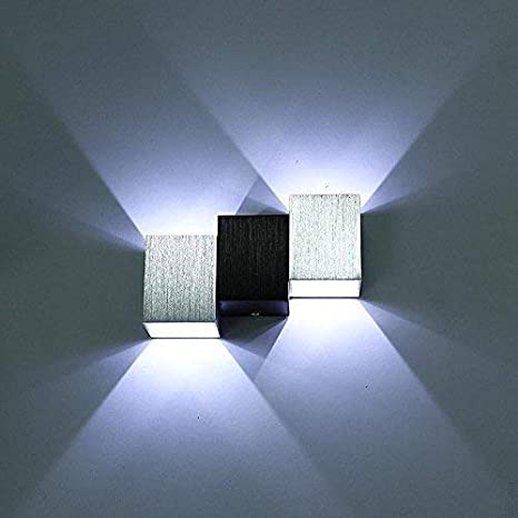 eaa04c618873 Maxmer 6W LED Wall Lights Modern Up Down Wall Lamp Wall Sconce Indoor  Decorative Night Light, Cool White: Amazon.co.uk: Lighting