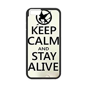 iPhone 6 Plus 5.5 Inch Cell Phone Case Black Keep Calm Stay Alive TY_F08506