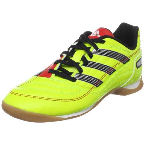 adidas Predito_X IN Indoor Soccer Shoe (Little Kid/Big Kid),Electricity/Black/Poppy,2 M US Little Kid (Shoes Adidas Predito Women)