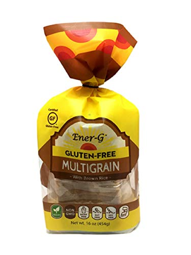Ener-G Foods Multigrain Brown Rice Loaf, 16-Ounce Packages (Pack of 6)