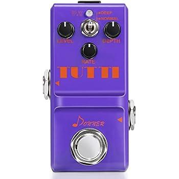 Donner Tutti Chorus Guitar Effect Pedal Super Mini Analog Stombox