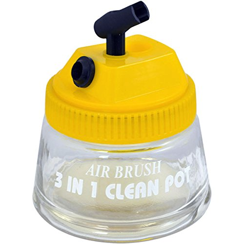 master-airbrush-3-in-1-cleaning-pot-with-holder-cleans-and-holds-airbrush-color-palette-lid