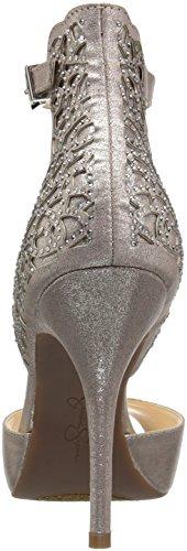 Jessica Simpson Womens Bellona Robe Pompe Gunmetal