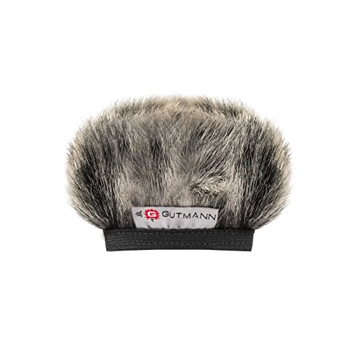 Gutmann Fur Microphone Windshield Windscreen for Olympus LS-P1 / LS-P2 Special Model Husky (Limited Edition)