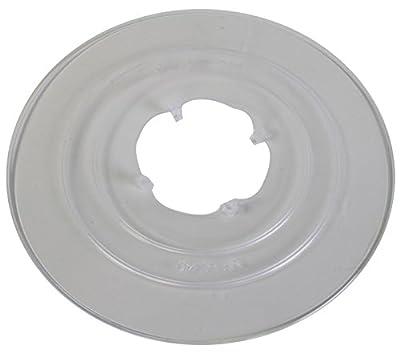 "Sunlite Cassette Spoke Protector, 2.125"" ID 6.5"" OD, 32H, Clear"